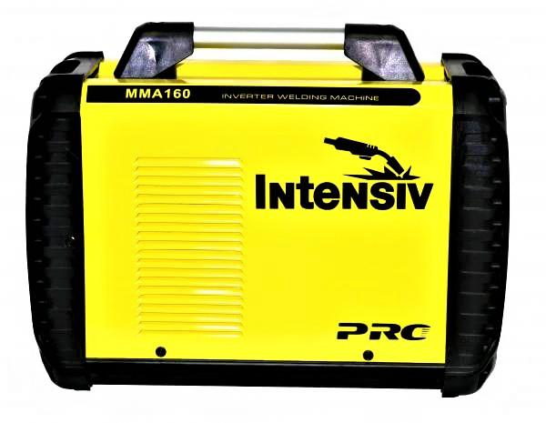 Aparat de sudura invertor Intensiv ARC 160 EVO, 20-160A, MMA, electrozi 1.6mm-4mm, bazici/rutilici/supertit 2