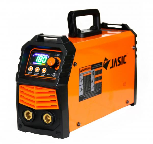 Aparat de sudura invertor Jasic ARC 180 LED SYNERGIC, 10-180A, MMA, electrozi 1.6mm-3.2mm, bazici/rutilici/supertit [0]
