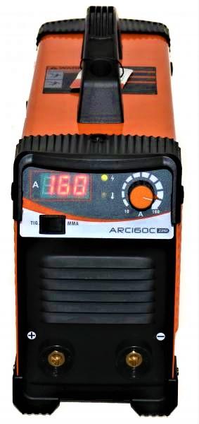 Aparat de sudura invertor Jasic ARC 160 CEL, 20-160A, MMA/TIG, 7.5kVa, electrozi 1.6mm-4mm, bazici/rutilici/supertit 1
