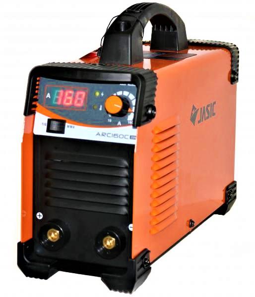 Aparat de sudura invertor Jasic ARC 160 CEL, 20-160A, MMA/TIG, 7.5kVa, electrozi 1.6mm-4mm, bazici/rutilici/supertit 2