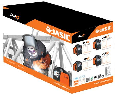 Aparat de sudura invertor Jasic ARC 200 PRO, 10-200A, MMA/TIG, 9.4kVa, electrozi 1.6mm-4mm, bazici/rutilici/supertit 3