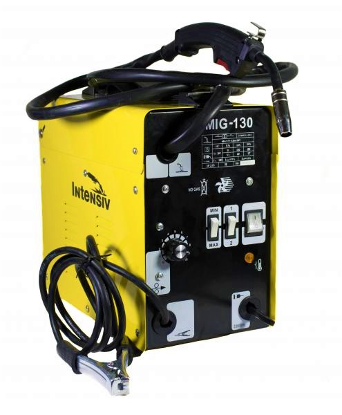 Aparat de sudura transformator Intensiv MIG 130, 60-120A, MIG/MAG, sarma FLUX 0