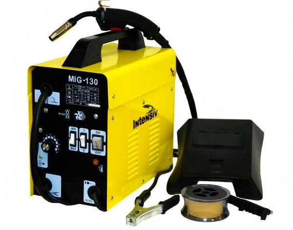 Aparat de sudura transformator Intensiv MIG 130, 60-120A, MIG/MAG, sarma FLUX 1