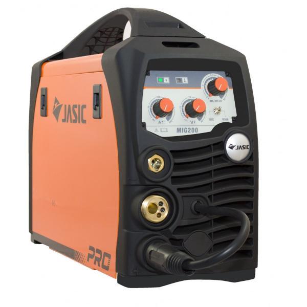 Aparat de sudura invertor Jasic MIG 200, 10-200A, MIG MAG MMA, GAS/NO GAS, electrozi/sarma/FLUX 0.6-1mm 0