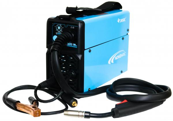 Aparat de sudura invertor Jasic NOVOMIG 130, 10-130A, MIG, GAS/NO GAS, sarma/FLUX 0.6-1mm 1