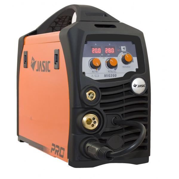 Aparat de sudura invertor Jasic MIG 200 SYNERGIC, 10-200A, MIG MAG MMA TIG Lift, GAS/NO GAS, electrozi/sarma/FLUX 0.6-1mm [0]