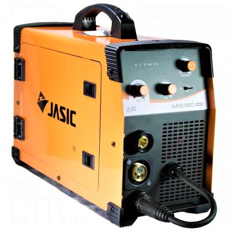 Aparat de sudura invertor Jasic MIG 180, 10-180A, MIG MAG MMA, GAS/NO GAS, electrozi/sarma/FLUX 0.6-1mm 0