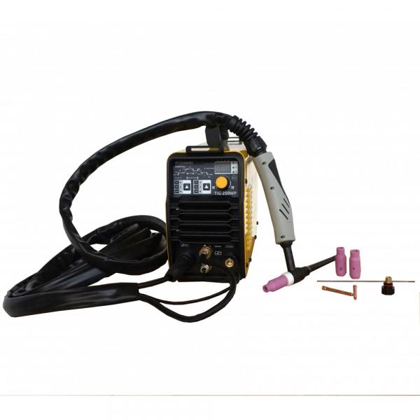 Aparat de sudura invertor ProWELD TIG-250WP, 10-220A, TIG/MMA, electrozi bazici-rutilici-supertit 1