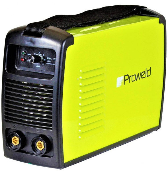 Aparat de sudura invertor ProWELD MMA-120PI, 20-120A, 5KvA, electrozi 2.5mm/3.2mm, bazici/rutilici/supertit 1