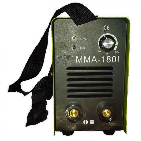 Aparat de sudura invertor ProWELD MMA-180I, 20-180A, 7KvA, electrozi 2.5mm/3.2mm, bazici/rutilici/supertit 1