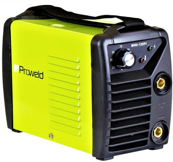 Aparat de sudura invertor ProWELD MINI 120PI, MMA, 20-120A, 5KvA, electrozi 2.5mm/3.2mm, bazici/rutilici/supertit [0]