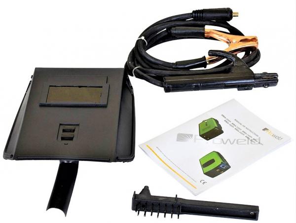 Aparat de sudura invertor ProWELD ROC-180I, 20-180A, 6.5KvA, electrozi 2.5mm-4mm, bazici/rutilici/supertit 3