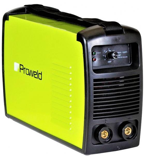 Aparat de sudura invertor ProWELD MMA-160PI, 20-160A, 6KvA, electrozi 2.5mm/3.2mm, bazici/rutilici/supertit 0