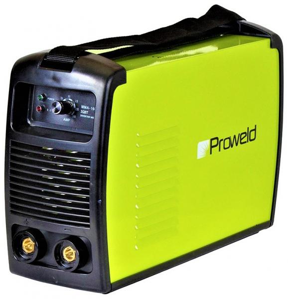Aparat de sudura invertor ProWELD MMA-160PI, 20-160A, 6KvA, electrozi 2.5mm/3.2mm, bazici/rutilici/supertit 1