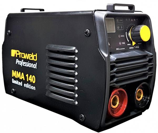 Aparat de sudura invertor ProWELD MMA-140, VRD, 10-140A, 5.7KvA, TIG, electrozi 2.5mm/3.2mm, bazici/rutilici/supertit [0]