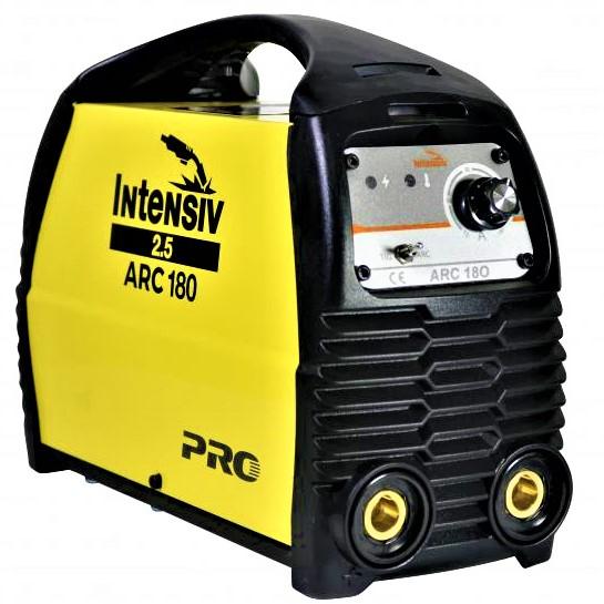 Pachet Aparat de sudura invertor Intensiv ARC 180 VRD, 10-180A, 8KvA, MMA/TIG, electrozi 1.6mm-4mm, bazici/rutilici/supertit 1