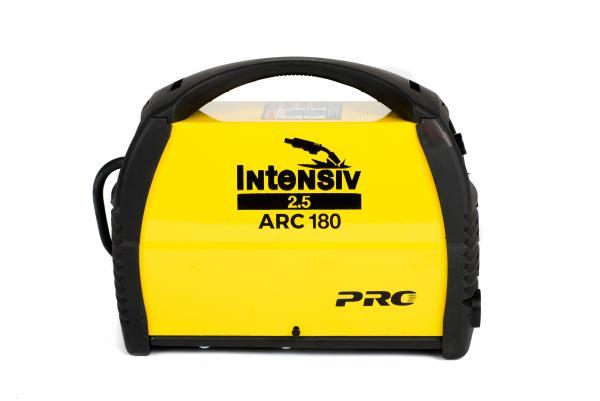 Pachet Aparat de sudura invertor Intensiv ARC 180 VRD, 10-180A, 8KvA, MMA/TIG, electrozi 1.6mm-4mm, bazici/rutilici/supertit 2