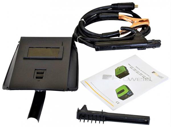 Aparat de sudura transformator ProWELD BX1-200CP1, 75-200A, 11.2KvA, MMA, electrozi 2.5mm-5mm, rutilici/supertit 3
