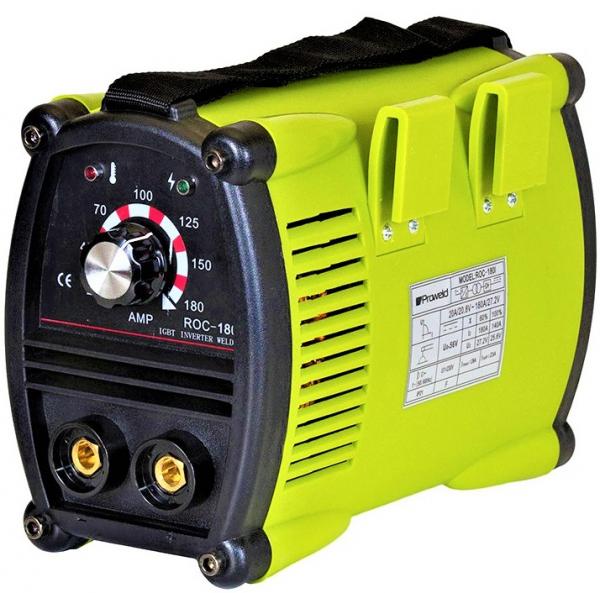 Aparat de sudura invertor ProWELD ROC-180I, 20-180A, 6.5KvA, electrozi 2.5mm-4mm, bazici/rutilici/supertit 1