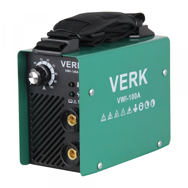 Aparat de sudura invertor Verk VWI-100A, 10-100A, 3.8KVA, MMA, Electrozi 1-2.5 mm 0