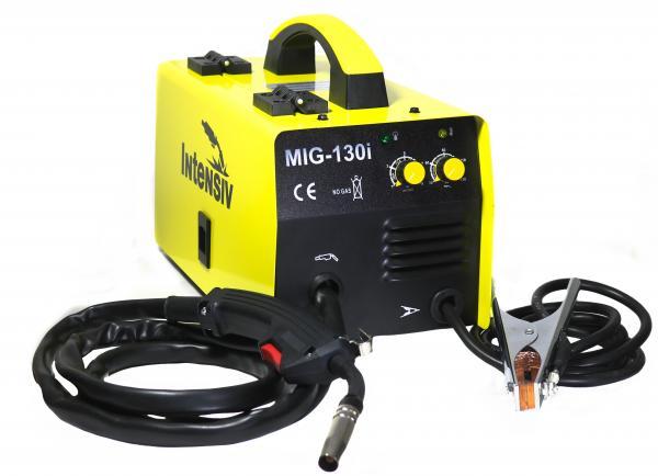 Pachet Aparat de sudura invertor Intensiv MIG 130i, 30-125A, MIG/MAG, sarma FLUX 1