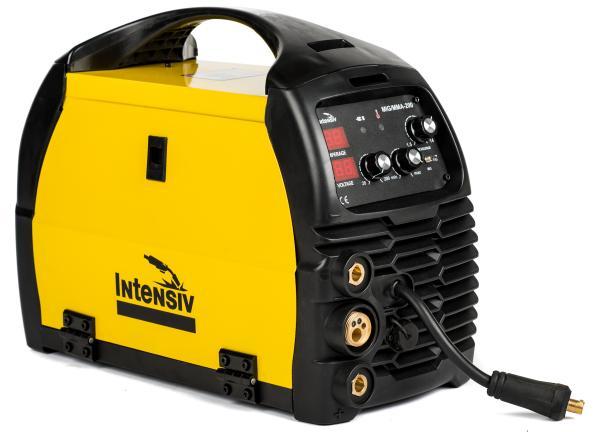 Aparat de sudura invertor Intensiv MIG 200, 10-200A, MIG-MAG/TIG/MMA, GAS/NO GAS, sarma/FLUX 0.6-1mm 0