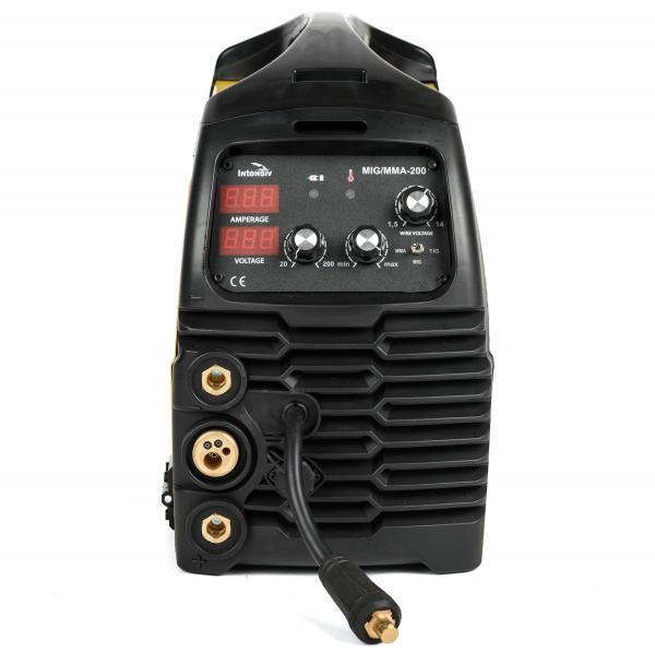 Aparat de sudura invertor Intensiv MIG 200, 10-200A, MIG-MAG/TIG/MMA, GAS/NO GAS, sarma/FLUX 0.6-1mm 1