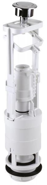 Armatura universala(Mecanism golire rezervor WC) FERRO 495.P, cu apasare pentru rezervor wc, crom 0