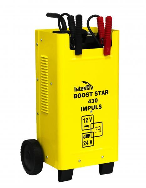 Redresor auto (robot de pornire) Intensiv BOOST STAR 430 IMPULS, 12/24V, 400A MAX, 260A Demaraj 0