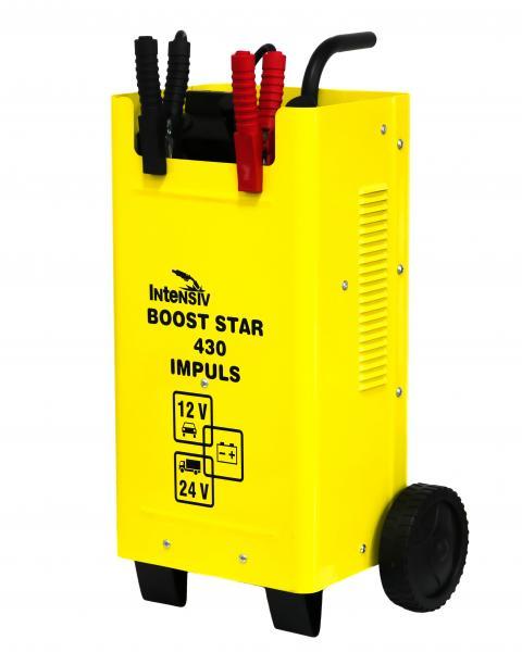 Redresor auto (robot de pornire) Intensiv BOOST STAR 430 IMPULS, 12/24V, 400A MAX, 260A Demaraj 1