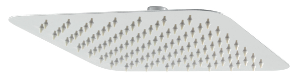 Cap dus fix patrat FERRO RUP/251.4, 250x250 mm, inox 0