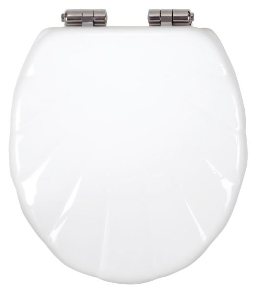 Capac WC universal soft-close din duroplast FERRO Lyra, alb 0