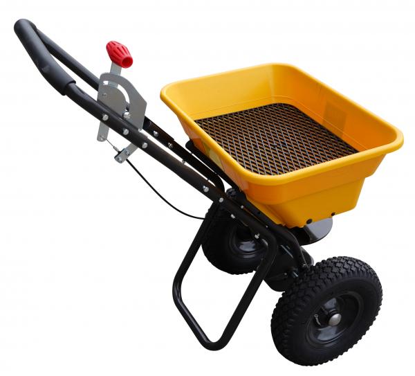 Carucior pentru imprastiat (dispersor) Texas CS3600, 36l, 2metri, pentru seminte/ingrasamant/nisip/sare de drum 2