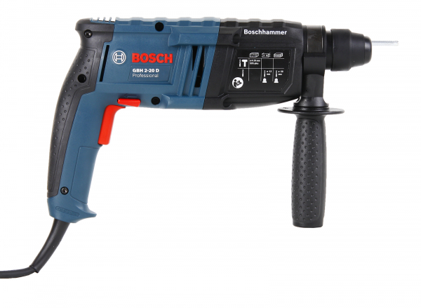 Ciocan rotopercutor Bosch GBH 2-20 D, 650W, 1.7J, 1300rpm, SDS-Plus, 3 functii 2