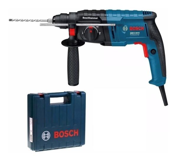 Ciocan rotopercutor Bosch GBH 2-20 D, 650W, 1.7J, 1300rpm, SDS-Plus, 3 functii 1