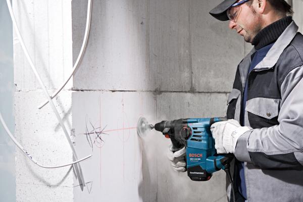 Ciocan rotopercutor Bosch GBH 3-28 DRE, 800W, 3.1J, 900rpm, SDS-Plus, 3 moduri 3