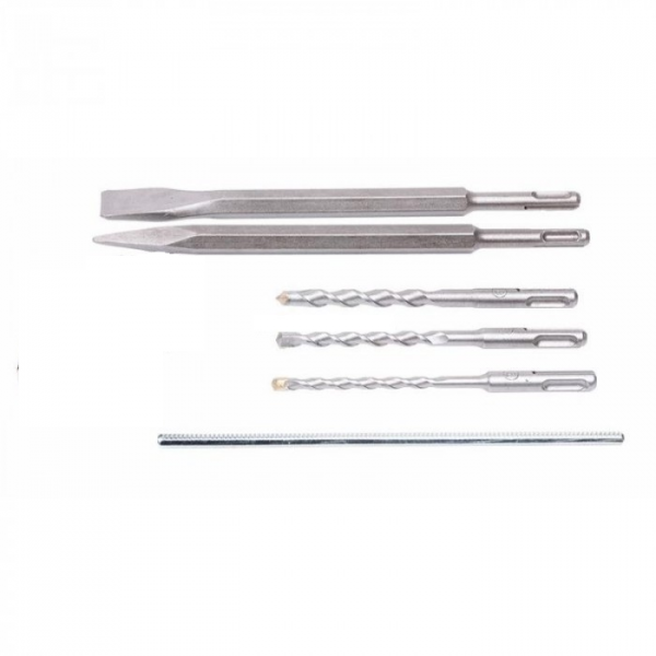 Ciocan rotopercutor Stern RH26C, 800W, 2.8J, 1350rpm, SDS-Plus, 3 moduri [1]