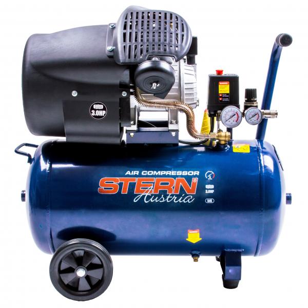 Compresor de aer Stern CO3050A, 50L, 8bar, 350L/min, 220V, angrenare directa 1
