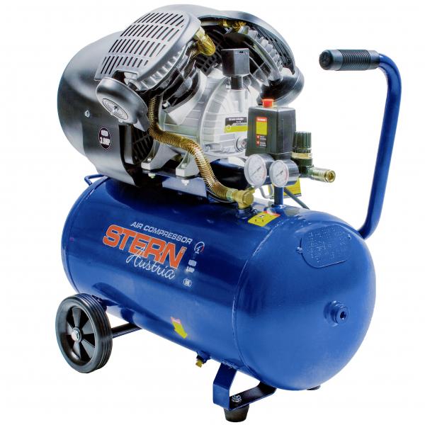 Compresor de aer Stern CO3050A, 50L, 8bar, 350L/min, 220V, angrenare directa 0