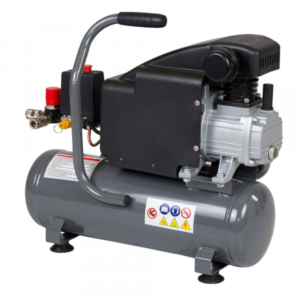 Compresor de aer Stager HM1010K, 6L, 8bar, 126L/min, 220V, angrenare directa 1