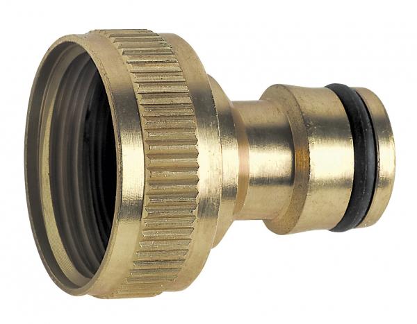 """Conector din alama FERRO DY8028C, 1"""" FI  pentru robinet 0"""