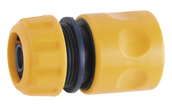 """Conector din plastic pentru furtun de gradina FERRO DY8010, 1/2"""" 0"""