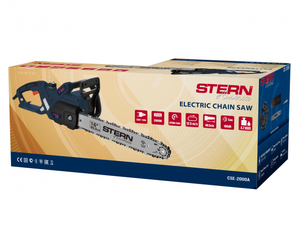 Drujba electrica (electrofierastrau) Stern CSE2000A, 2000 W, 40 cm 1