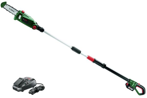 Drujba electrica crengi (emondor) cu acumulator Bosch UniversalChainPole 18, 18V, 2.5Ah, 4 m/s 0