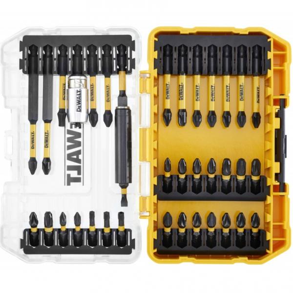 Set insurubare (trusa) DeWALT DT70731T, 37 piese, pentru insurubare cu impact si normala 1