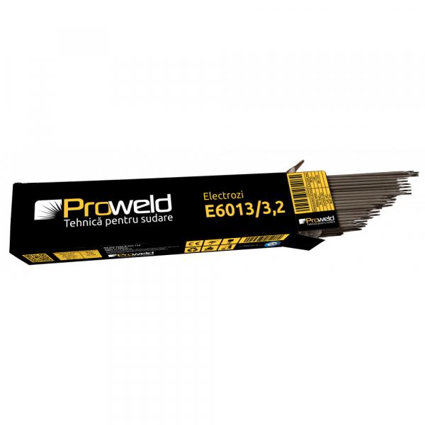 Electrozi rutilici (supertit) pentru sudura ProWELD E6013, 3.2mm/35cm, 80-120A, 5kg [0]