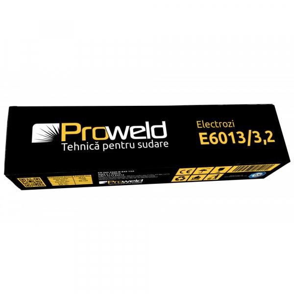 Electrozi rutilici (supertit) pentru sudura ProWELD E6013, 3.2mm/35cm, 80-120A, 5kg [2]