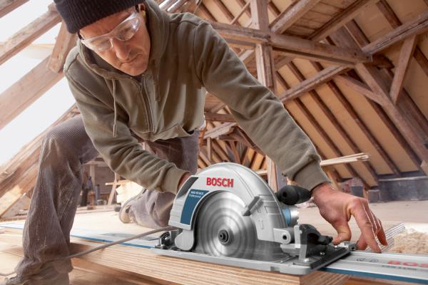 Ferastrau circular Bosch GKS 85 G, 2200 W, 5.000 rot/min, 235 mm [2]