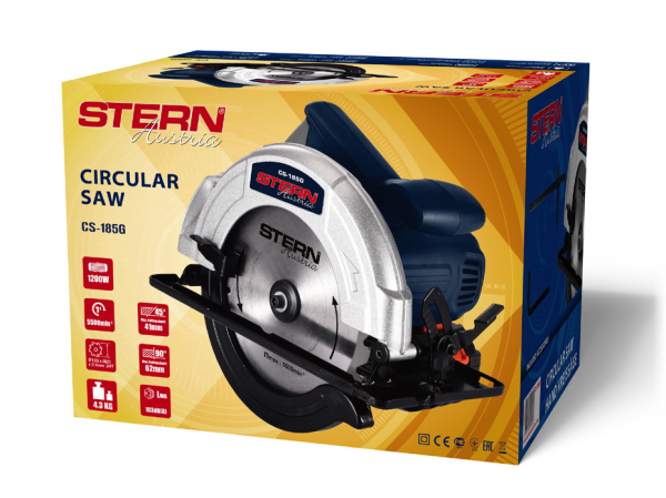 Fierastrau Circular Stern CS185G, 1200W, 5500rpm, 185mm 1