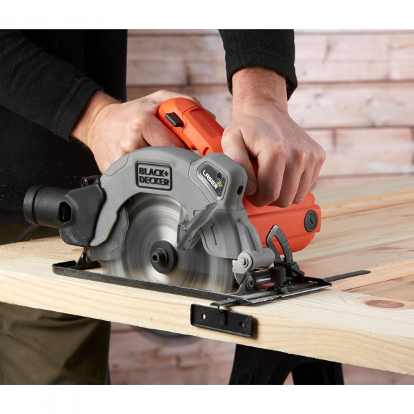 Fierastrau Circular Black & Decker CS1250LA, 1250W, 3400rpm, 170mm, Laser, disc inclus 1